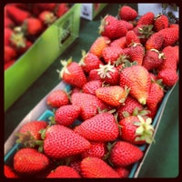 Photo taken at Century City Farmer's Market by Dan C. on 5/9/2013