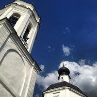 Photo taken at Церковь Рождества Богородицы в Образцово by Даниил П. on 6/15/2013