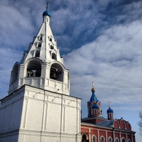 Photo taken at Церковь Тихвинской Иконы Божией Матери by Даниил П. on 3/8/2014