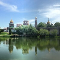 Photo taken at Novodevichy Convent by Даниил П. on 5/19/2013
