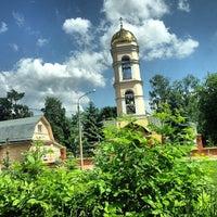 Photo taken at Храм Святителя Николая в Жегалово by Даниил П. on 6/2/2013