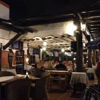 Photo taken at Restaurante El Faro by Paganopiante A. on 9/4/2014