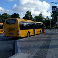 Photo taken at Visby Busstation by Jonas K. on 8/10/2016