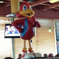 Photo taken at Red Robin Gourmet Burgers by Tiffani R. on 7/13/2013