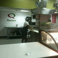Photo taken at Quizno's by I C. on 11/11/2013