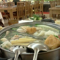 Photo taken at Oceanview Buffet Hot Pot by I C. on 12/14/2012