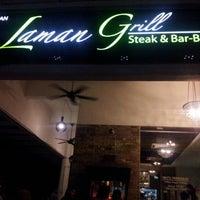 Photo taken at Laman Grill Steak & Bar-B-Que by Epyn P. on 10/23/2012