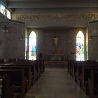 Photo taken at Cathedral - ABAC Hua Mak by Buabaa H. on 8/2/2014