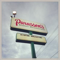 Photo taken at Parasson's Italian Restaurant by Leah on 5/2/2013