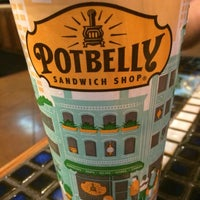 Photo taken at Potbelly Sandwich Shop by reigny on 4/29/2016