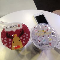Photo taken at 貢茶(공차) / GONG CHA by Tomochan S. on 2/15/2014