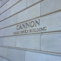 Photo taken at Cannon House Office Building by Liam R. on 1/20/2013