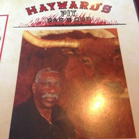 Photo taken at Hayward's Pit Bar-B-Que by Robert R. on 12/21/2012