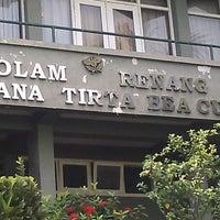 Photo taken at Kolam Renang Bojana Tirta by Fungki A. on 5/17/2013