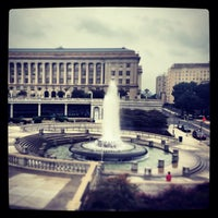 Photo taken at State Capitol Fountain by Dana T. on 8/28/2013