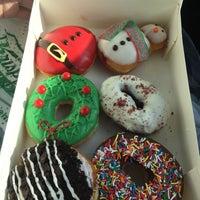 Photo taken at Krispy Kreme by Danielle on 12/13/2016