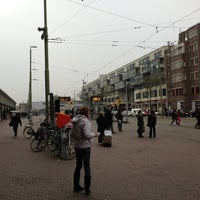 Photo taken at Tramhalte Station Hollands Spoor by Tom N. on 11/16/2012