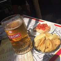 Photo taken at Romoli Bar by Beatrix M. on 8/21/2014