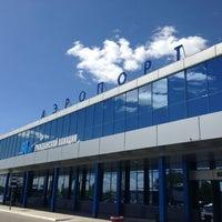 Photo taken at Omsk Central International Airport (OMS) by Anastasiya P. on 5/29/2013