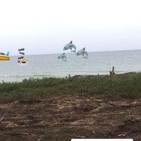 Photo taken at Pantai Teluk Lipat by Fzahs A. on 7/12/2017