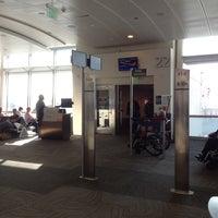 Photo taken at Gate 22 by Jon S. on 1/18/2014
