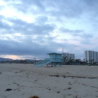Photo taken at Santa Monica Beach Tower 29 by Jon S. on 5/23/2014