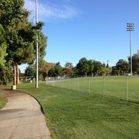 Photo taken at Clover Park Tennis Courts by Jon S. on 9/3/2013