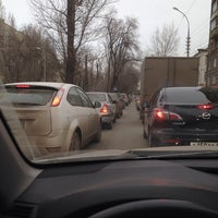 Photo taken at остановка «ул. Рахова» by Оксана Б. on 12/28/2013