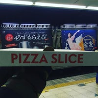 Photo taken at Pizza SLICE by miki m. on 3/12/2016