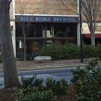 Photo taken at Blue Ridge Brewing Company by Earl B. on 3/16/2013