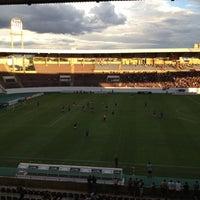 Photo taken at Estádio Doutor Adhemar Pereira de Barros (Arena da Fonte) by Paula d. on 11/10/2012