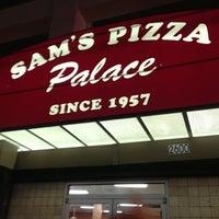 Photo taken at Sam's Pizza Palace by Julia L. on 8/7/2013