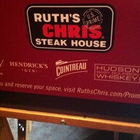 Photo taken at Ruth's Chris Steak House - Raleigh, NC by Christopher N. on 8/20/2013