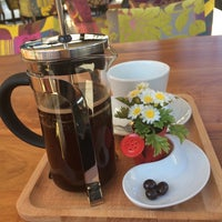 Photo taken at Neva Coffee & Bakery by Muazzez on 10/22/2014