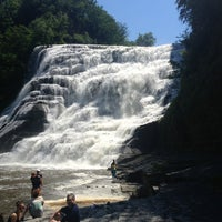 Photo taken at Ithaca Falls by Lauren H. on 6/30/2013