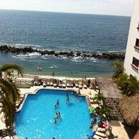 Photo taken at Playa del Sol Costa Sur Resort Puerto Vallarta by Veronika J. on 4/17/2014
