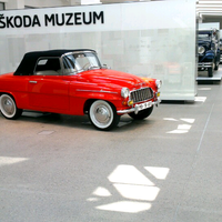 Photo prise au ŠKODA Muzeum par Sergey S. le5/9/2013