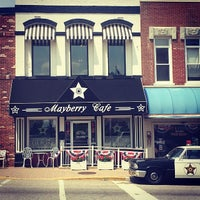 Photo taken at Mayberry Cafe by Christian P. on 5/26/2014