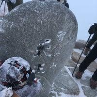 Photo taken at 천왕봉 (Chunwang Peak/天王峰) by toru o. on 2/3/2018