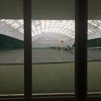 Das Foto wurde bei Теннисный корт Кадет von Юлечка am 1/9/2016 aufgenommen