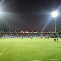Photo taken at Mandemakers Stadion by Ronald S. on 10/15/2011