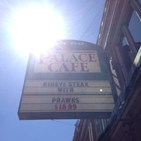 Photo taken at Palace Cafe by Mimi C. on 4/22/2014