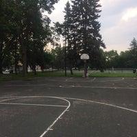 Photo taken at McRae Park by Erik J. on 7/7/2015