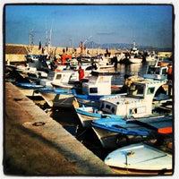Photo taken at Porto di Porticello by Roberto V. on 8/18/2013