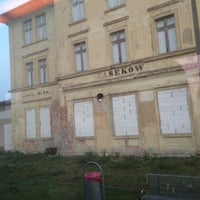Photo taken at Bahnhof Casekow by Maximilian R. on 4/11/2014