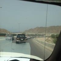 Photo taken at Qurum Darsait Bridge by Zo Z. on 6/3/2013