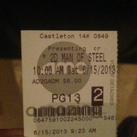 Photo taken at AMC Castleton Square 14 by MSTR. Lita M. on 6/15/2013