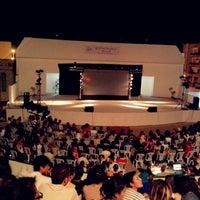 Photo taken at Théâtre De Plein Air De Boukornine by Abdel Karim J. on 7/19/2013