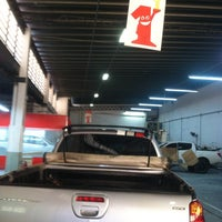 Photo taken at Maqnelson Mitsubishi by Císia C. on 7/5/2016
