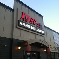 Photo taken at Kobe Ninja House Japanese Grill by Brian H. on 5/12/2013